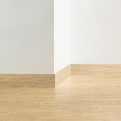 МДФ плинтус дуб светло-серый патина QSSK04158
